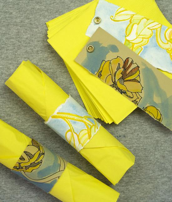 Paper Napkin Paper Rings