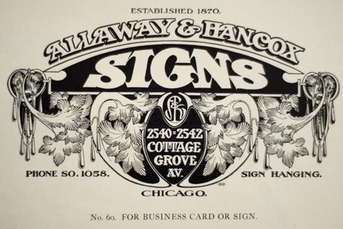 Callaway & Hancox Signs