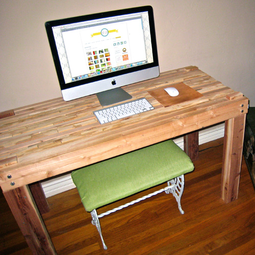 diy simple wood desk | Small Woodworking Projects