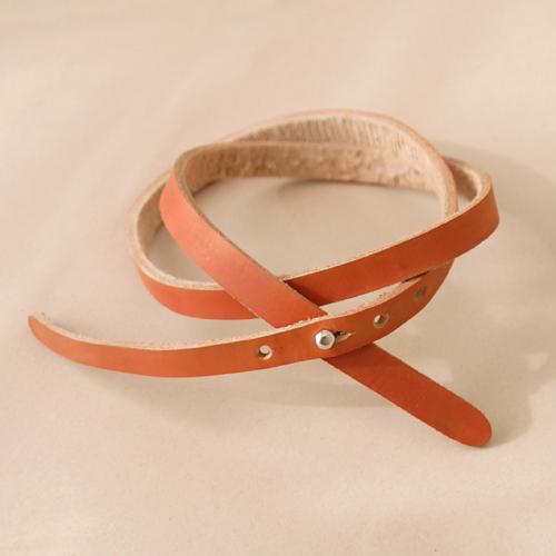 diy leather belt i still you by esplin