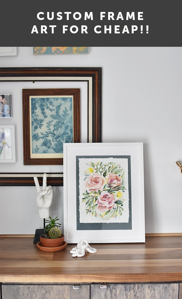 How To Custom Frame On An Ikea Budget I Still Love You By