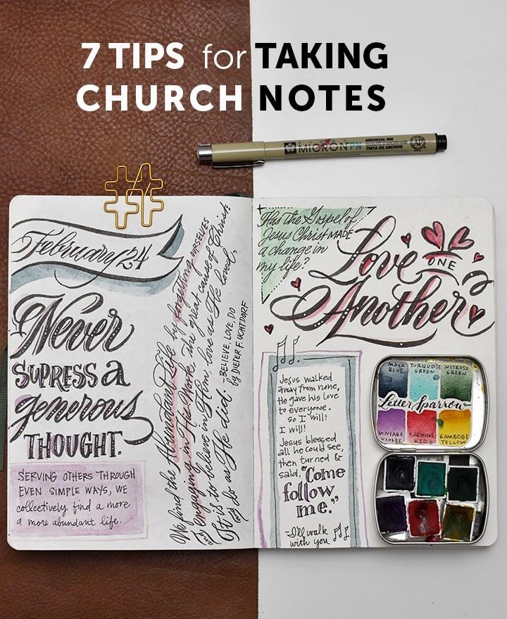 Tutorial Visual Journaling At Church I Still Love You By Melissa Esplin